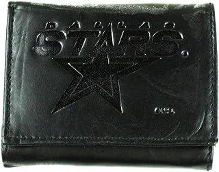 Rico Mens NHL Winnipeg Jets Tri-Fold Leather Wallet, Black 094746575465-P