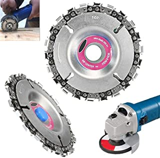 Angle Grinder Disc 22 Tooth Chain Saw Carving Blade Plate 4