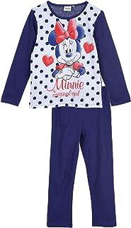 Kinder Pyjama Suit Mädchen Jungen Minnie Mickey Nachtwäsche Loungewear Outfit DE