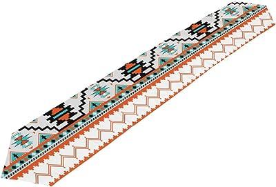 Amazon.com: Table Runner, Tassel, Red Stripes Table Flag, Kitchen ...