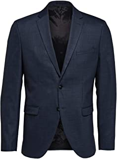 Selected Men's Slhslim-mylostate Flex Bl Str BLZ B Noos Blazer