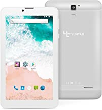 Yuntab E706 7 Inch Quad Core,Google Android 6.0,Unlocked Smartphone Phablet Tablet PC,1G+8G,HD 1024x600,Dual Camera,IPS,WiFi,G-Sensor,Support 3G Dual SIM Card with Alloy Metal Back(Silver)