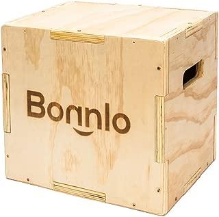 Bonnlo 3 in 1 Wood Plyometric Box 16