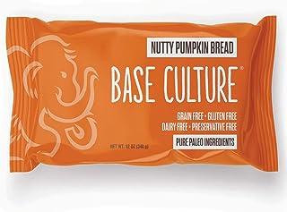 Base Culture Nutty Pumpkin Bread, Large Size | Delicious 100% Paleo Certified, Gluten Free, Grain Free, Non GMO, Dairy Fre...