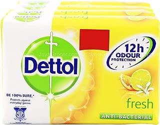 Dettol Anti-Bacterial Bar Soap, Fresh, 105 Gr
