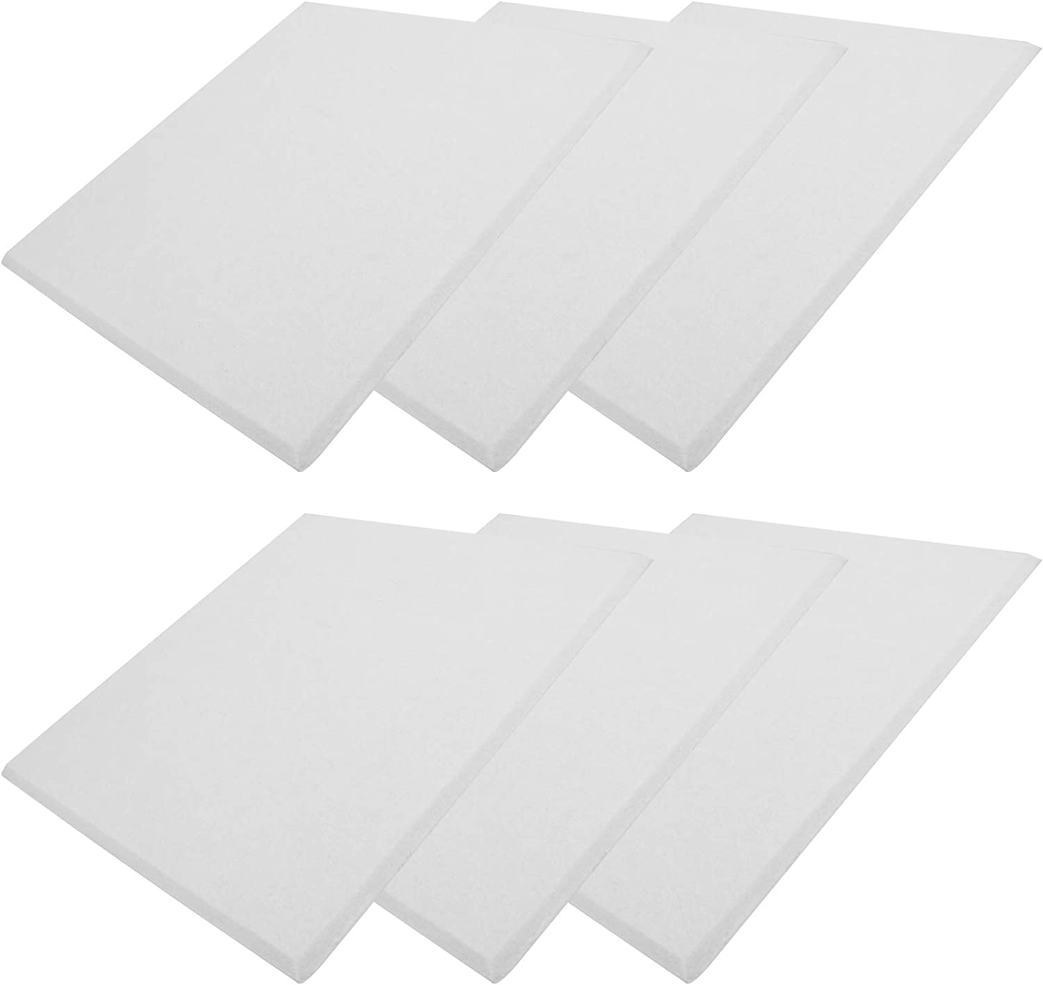 6PCs Sound‑Absorbing Very popular Board Acoustical Polyester Fib Treatments Los Angeles Mall