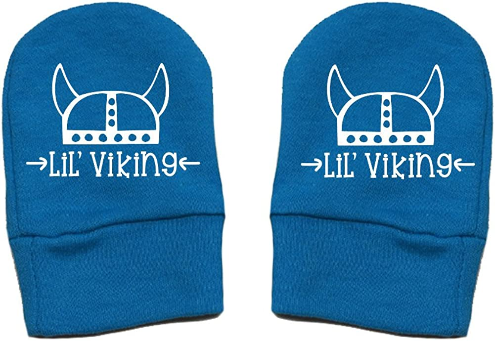 Mashed Clothing Unisex-Baby Thick Premium Thick /& Soft Baby Mittens Helmet - Fun /& Trendy Lil Viking
