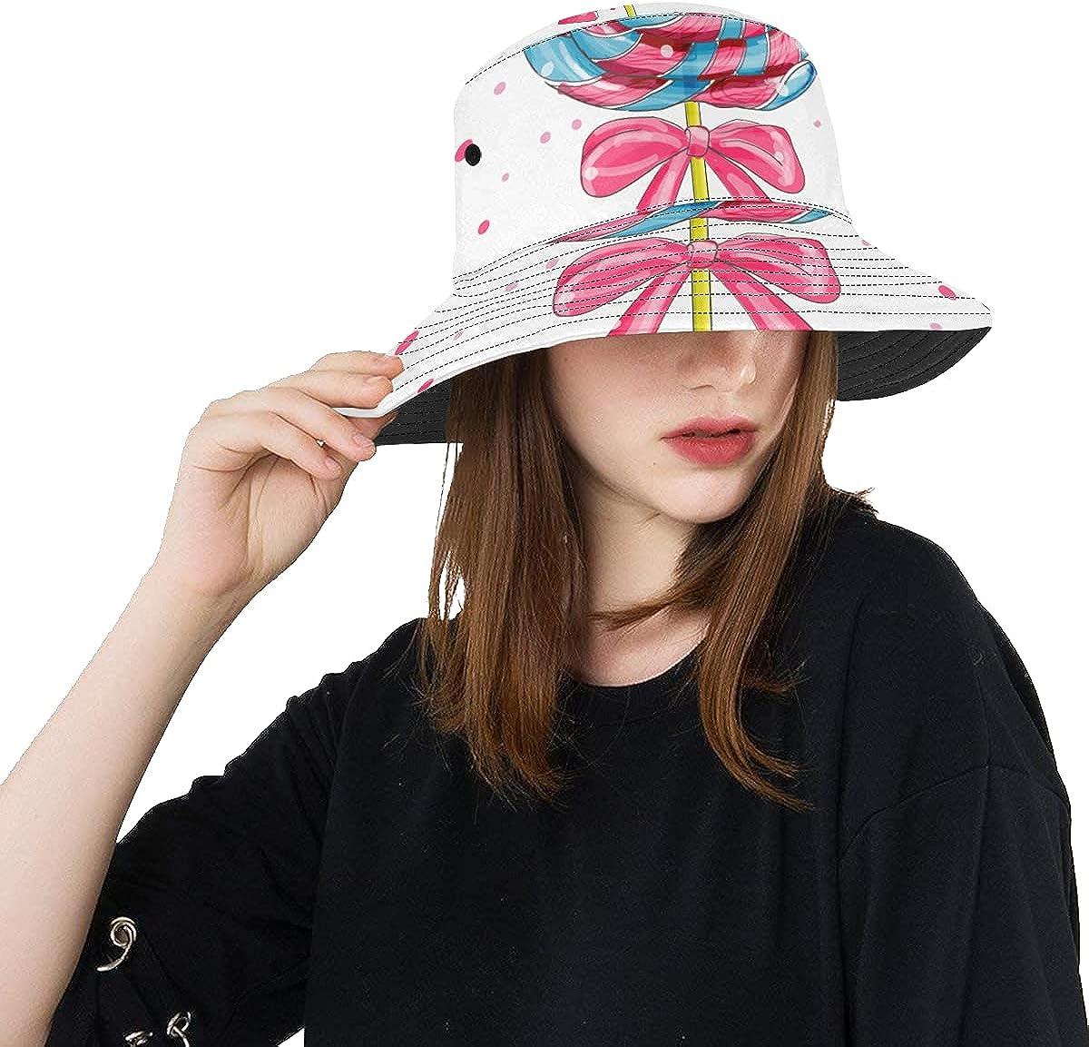 Men Fishing Hat Colorful Limited price Lollipop Summer Design Unisex Set Sweet Ranking TOP15