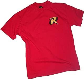 Robin Logo - Batman & Robin Adult T-Shirt