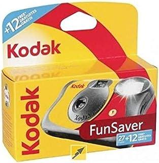كاميرا كوداك 3920949 Fun Saver ذات استخدام واحد مع فلاش (أصفر/أحمر)