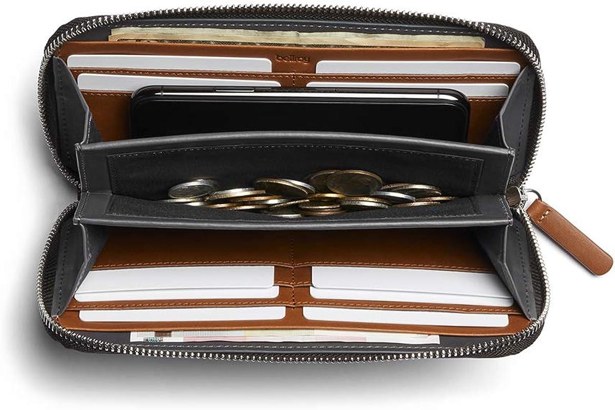 Bellroy Folio (Premium Leather Purse, Zipper Closure)