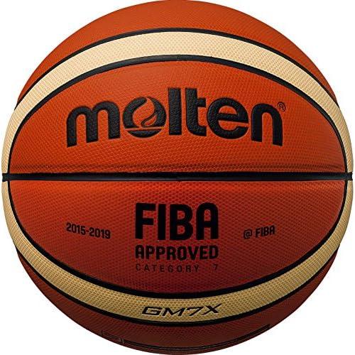 Molten Bgm7X Cuir Composite FIBA Match de Basket Taille 7