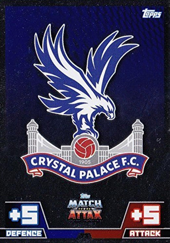 Match Attax 2014 2015 Crystal Palace Club Badge 14 15 by Match Attax