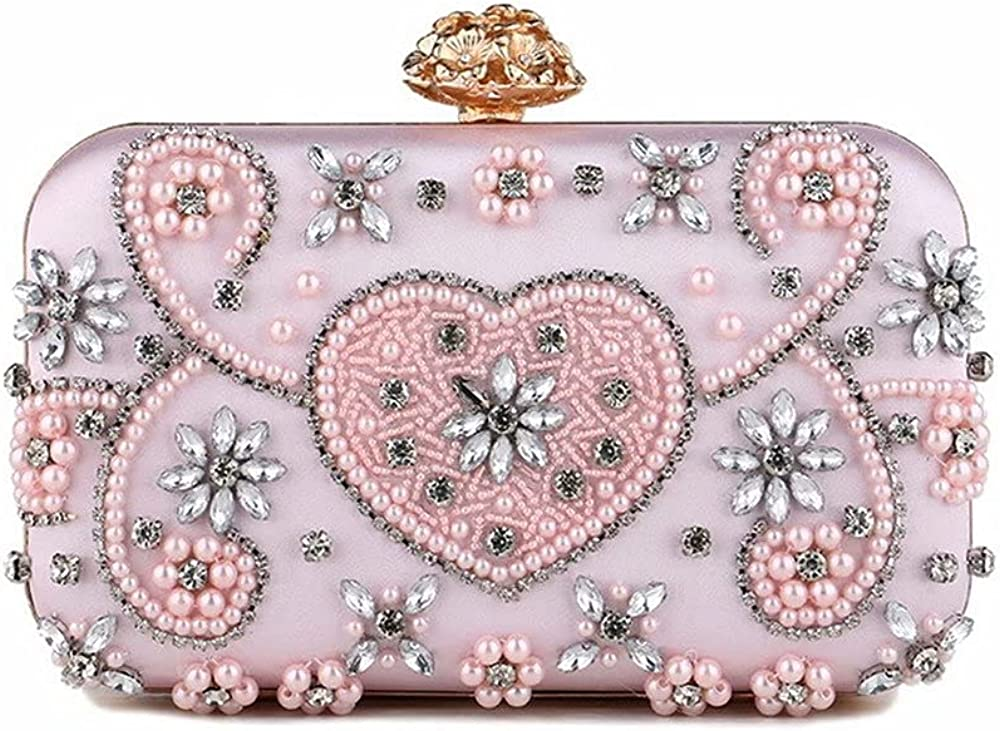 Square Crystal Clutch Purses For Women Evening Bags Sparkling Shoulder Rhinestone Party Cross Body Handbags with Chain BG006