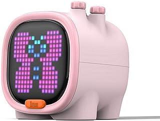 DLF Subwoofer, Altavoz de píxeles Arte Bluetooth, Altavoz inalámbrico portátil, un Reloj Despertador, aparatos Lindo, deco...