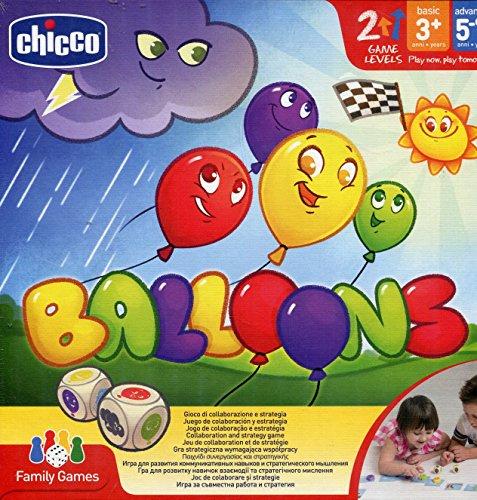 Chicco Gioco da Tavolo Balloons, Gioco in Scatola per Bambini e per Tutta la Famiglia, da 3 Anni in Su