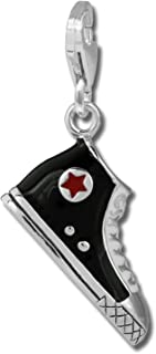 Pendentif//breloque Tingle of London en forme de z/èbre en argent