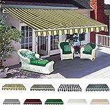 <span class='highlight'><span class='highlight'>Panana</span></span> 4 x 3M Manual Awning Retractable Canopy Sun Shade Shelter Waterproof Outdoor Patio Garden