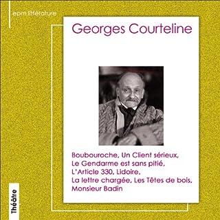 Couverture de Sélection de textes de Georges Courteline