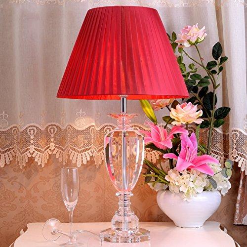 LRW moderne kristallen lamp creatieve Europese bedlampje woonkamer lamp Villa lamp