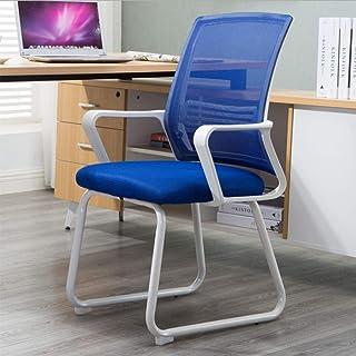 TXYJ Sillas de Ordenador,Sillas de Escritorio Sillas Giratorio,Silla de Oficina,Silla de Escritorio computadora Oficina Ergonómica,Azul