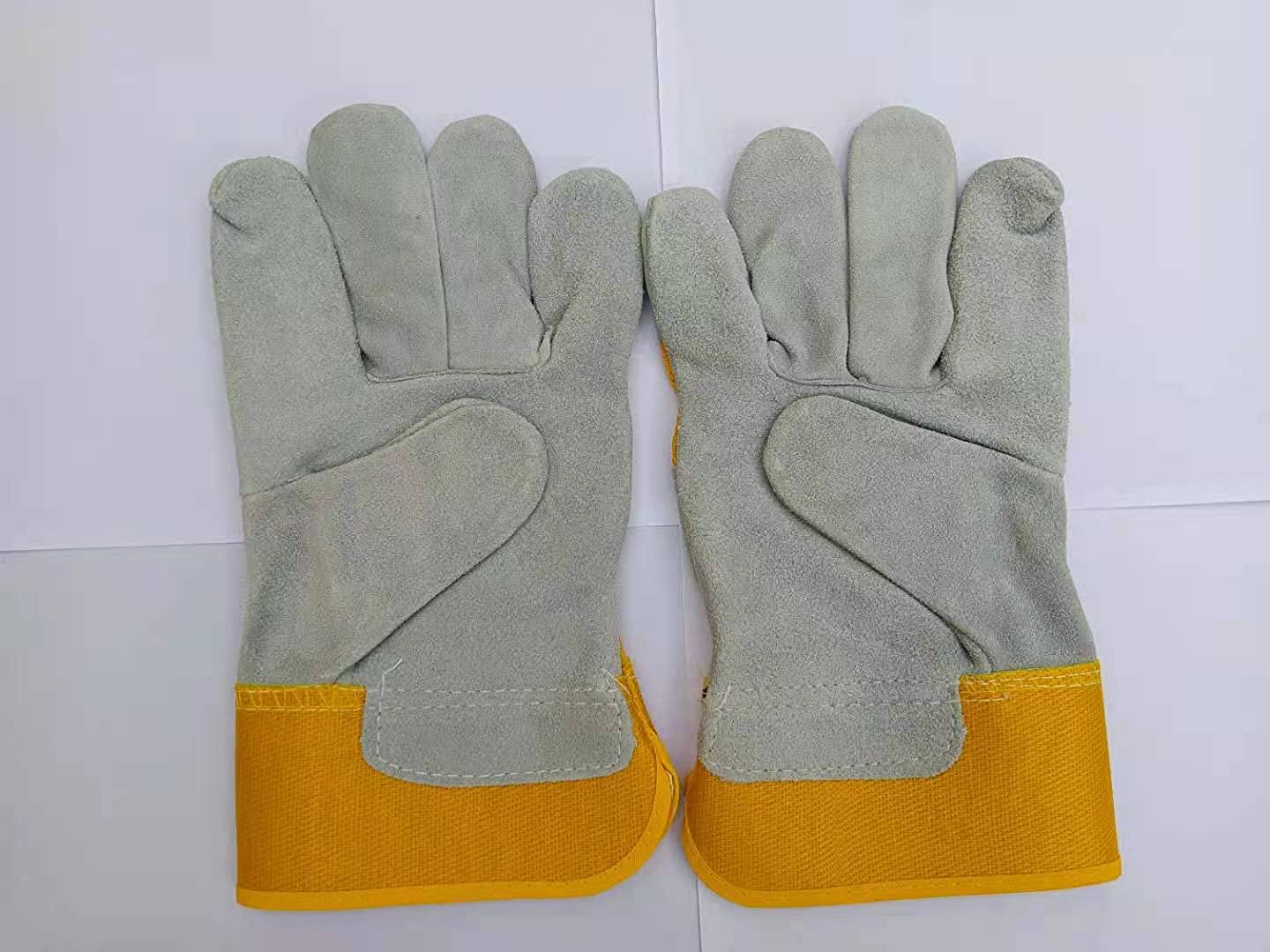 SZONTIME Wgy2401 Welder Gloves All stores are sold Short Work Glov Leather Sleeve Ranking TOP15
