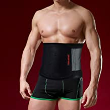 HAUSBELL Waist Trimmer, Adjustable Sweat Belt for Man and Women, Waist Trainer for Weight Loss and Stomach Fat Burner