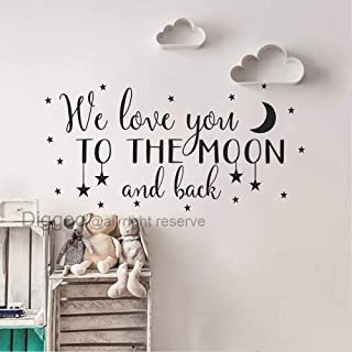 Best to the moon and back wall decal Reviews