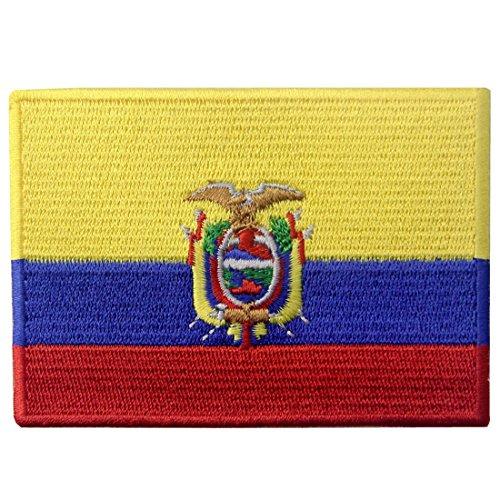 Ecuador-Flagge Bestickter Ecuadorianischen Aufnäher zum Aufbügeln/Annähen