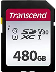 Transcend SDカード 480GB UHS-I Class10 (最大転送速度95MB/s) TS480GSDC300S