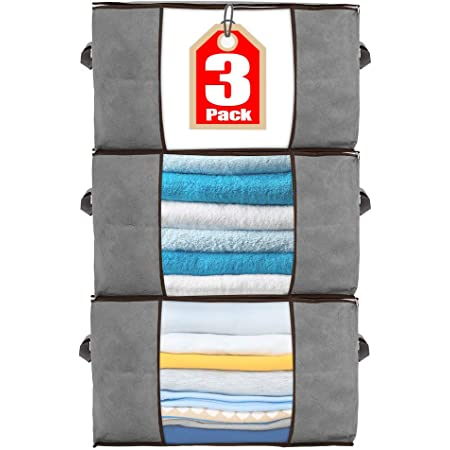Foldable Large Capacity Storage Bag Clothes Blanket Quilt Blanket Toys O Details about  /CW/_ FT