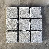 石畳 ピンコロかんたんマット 約300×300×20(mm) 4枚セット 白色