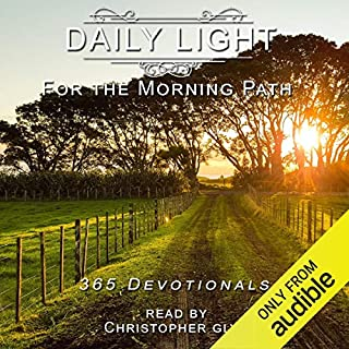 Daily Light for the Morning Path 365 Devotionals audiobook cover art