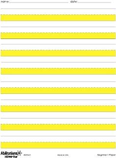 Best raised line handwriting paper Reviews