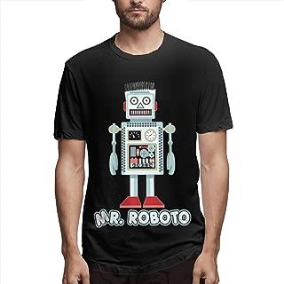 Mens Fashion Mr Roboto Shirs