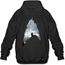 PHOEB Mens Sportswear Drawstring Hoodies Outwear Jacket,American Science Fiction Action Film Black