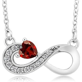 CS-DB Cubic Zirconia Crystal Infinity Gold Love Heart Top Stylish