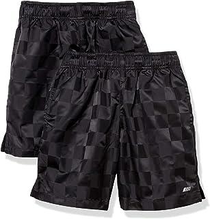 Amazon Essentials Active Performance-Pantalones Cortos de fútbol Tejidos Niños