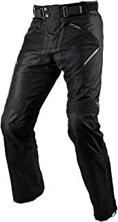 コミネ(KOMINE) バイク用 プロテクトライディングメッシュパンツ ブラック L PK-743 1222 春夏秋向け メッシュ素材 CE規格 ストレッチ素材