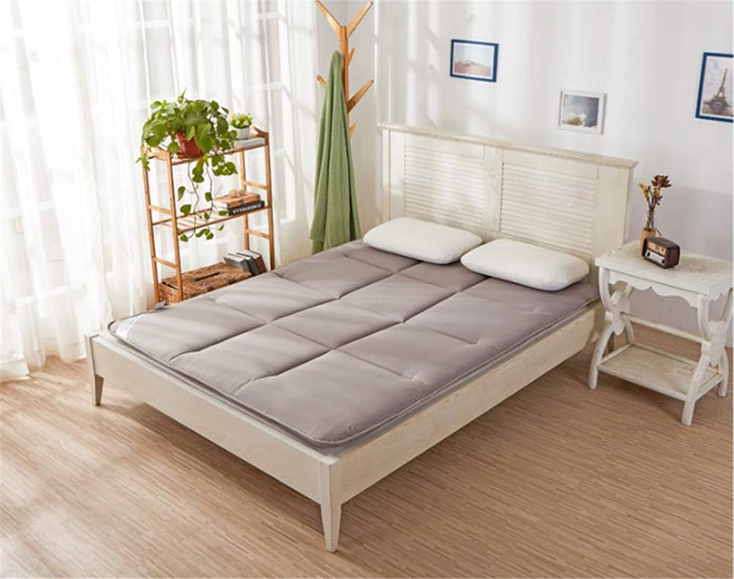 Padded Tatami Mattress,Foldable Mattress,Student Dormitory Double Single Bed Mattress,Sponge Soft Mattress,E,100  200cm