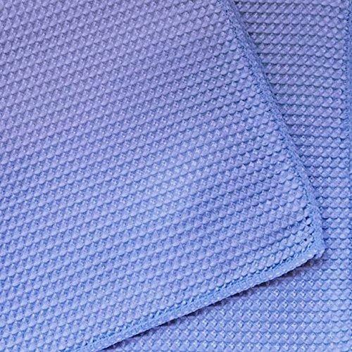 SemyTop 10 Mikrofaser Waffeltücher, 40 x 40 cm, ERH-Putzlappen