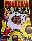 Manu Chao Poster – Radio Bemba – Maske – 40 x 60 cm