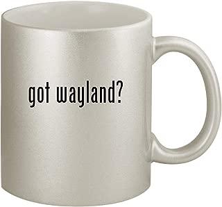 got wayland? - Ceramic 11oz Silver Coffee Mug, Silver