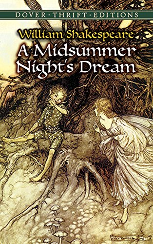 A Midsummer Night's Dream (Dover Thrift Editions) by [William Shakespeare]