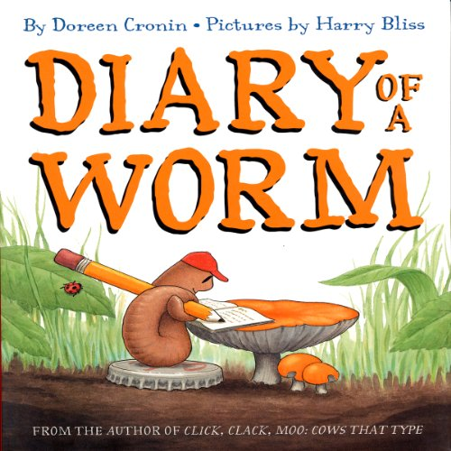 Diary of a Worm audiobook cover art
