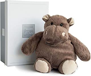 Histoire d'ours HO1058 - Hipopótamo de peluche, tamaño mediano