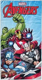 Marvel Avengers in Microfibra Telo Mare per Bambini 100/% Poliestere Assorbente