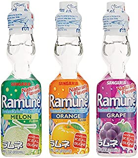 Ramune Assorted Natural 18 Pack
