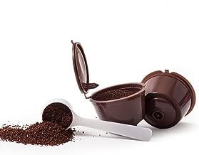 3 CAPSULAS RECARGABLES RELLENABLES REUTILIZABLES PARA CAFETERAS DOLCE GUSTO + 1 CUCHARITA DE CAFE REGALO