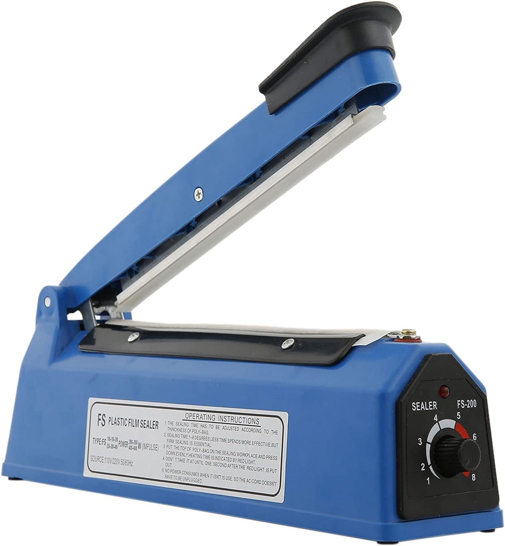 Professional Plastic Impulse Heat Sealer Inventory cleanup selling sale Food Vacuum Columbus Mall Sealer; Use